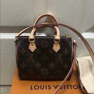 Louis Vuitton nano speedy, NWT